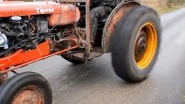 Tractor con Motor Volvo Turbo Cargado!