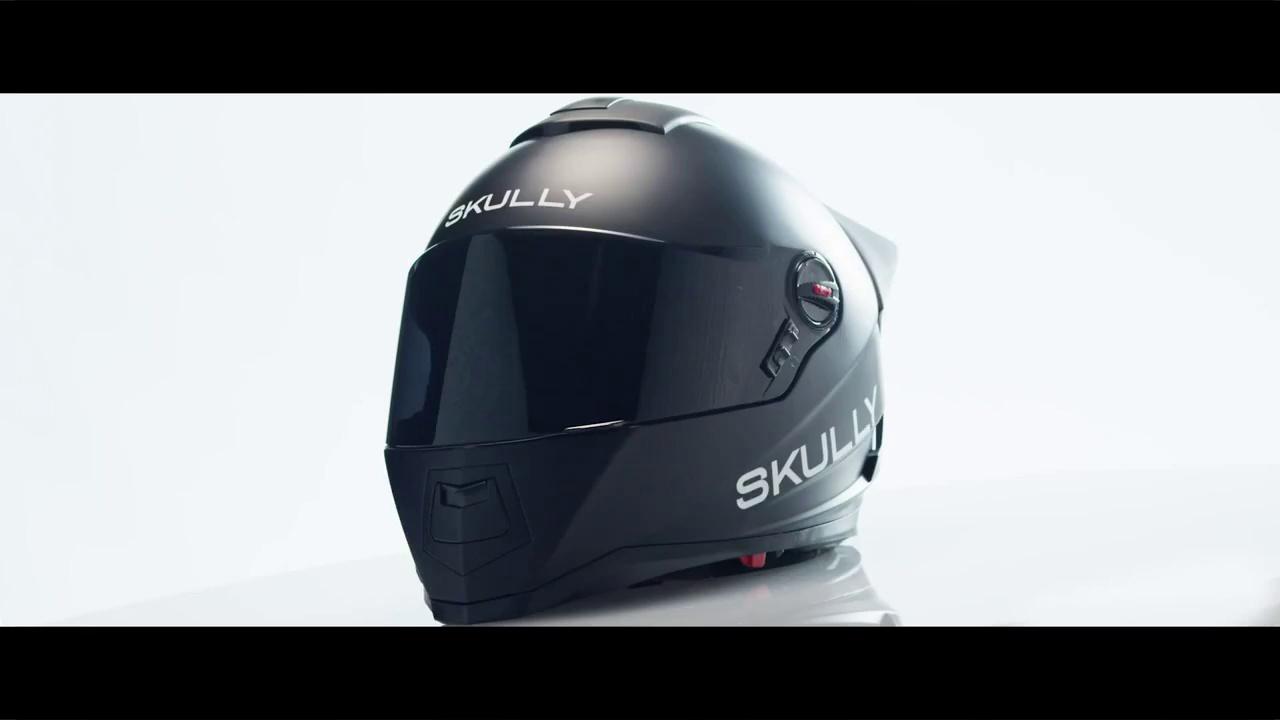 Skully la evolución del casco para moto
