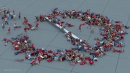 Simulador de multitudes 3D
